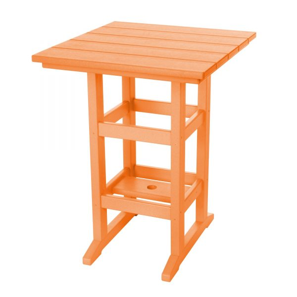 Counter Height Table- Orange