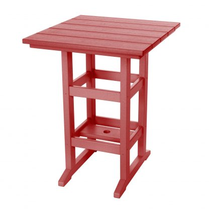 Counter Height Table- Red