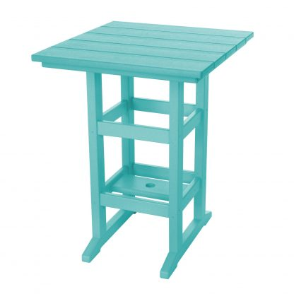 Counter Height Table- Turquoise