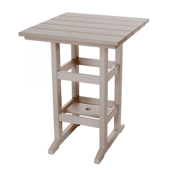 Counter Height Table- Weatherwood