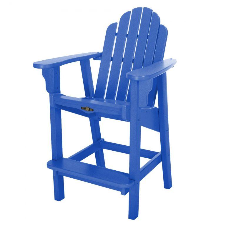 Essentials Counter Height Chair- Blue