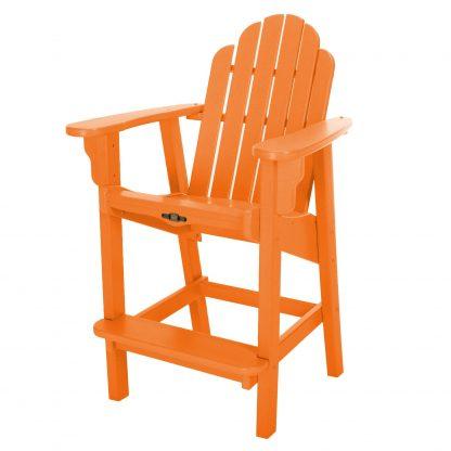 Essentials Counter Height Chair-Orange