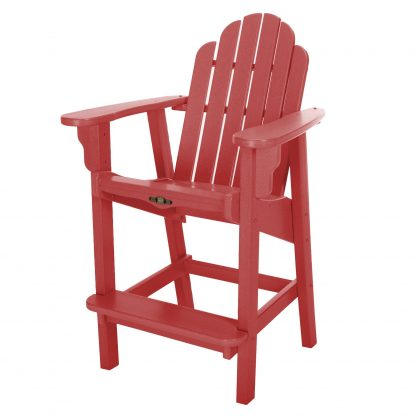 Essentials Counter Height Chair-Red