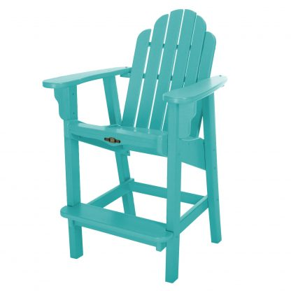 Essentials Counter Height Chair- Turquoise