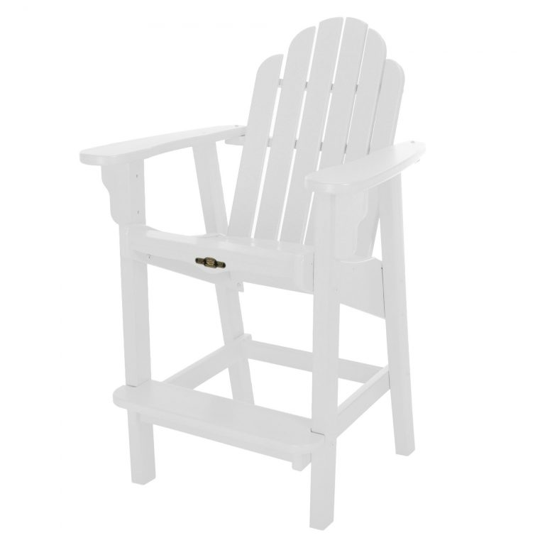 Essentials Counter Height Chair-White