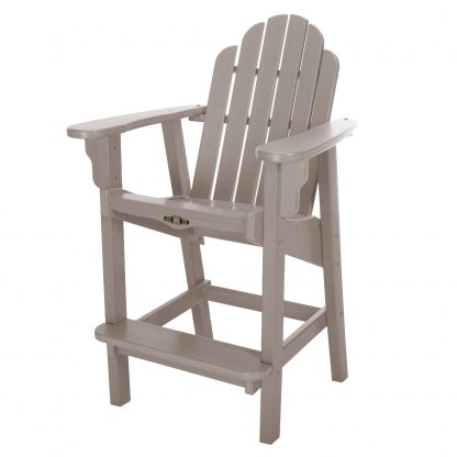 Essentials Counter Height Chair-Weatherwood