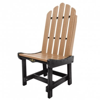 Essentials Dining Chair - Black / Cedar