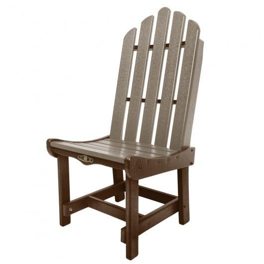 Essentials Dining Chair - Choc / Weatherwood