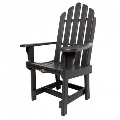 Essentials Dining Chair with Arms - Black