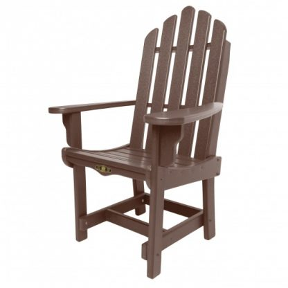 Essentials Dining Chair with Arms - Chocolate