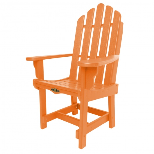 Essentials Dining Chair with Arms - Orange