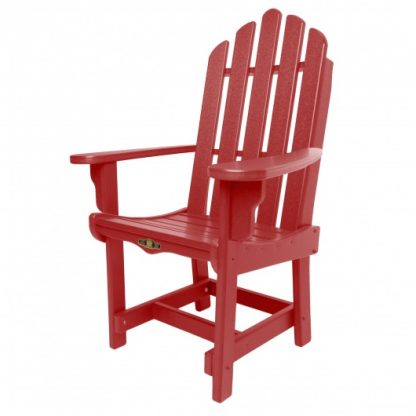 Essentials Dining Chair with Arms - Red