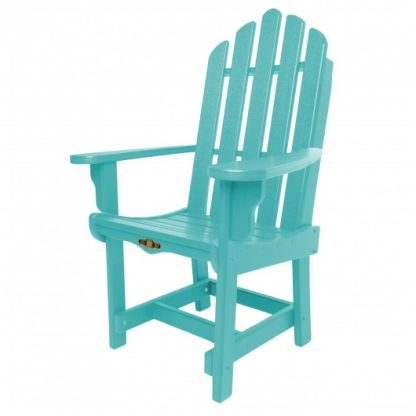Essentials Dining Chair with Arms - Turquoise