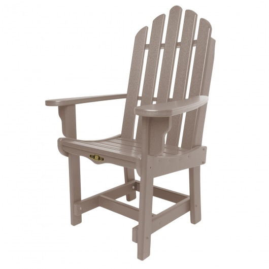 Essentials Dining Chair with Arms - Weatherwood