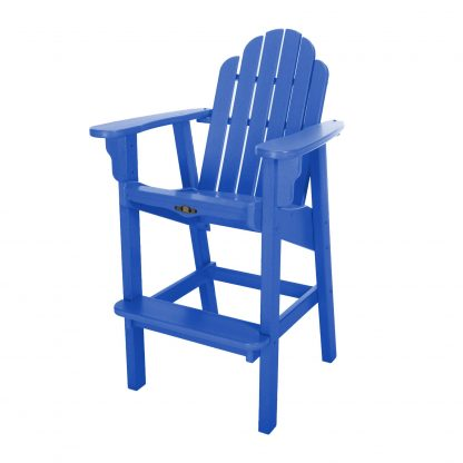 Essentials High Dining Chair- Blue