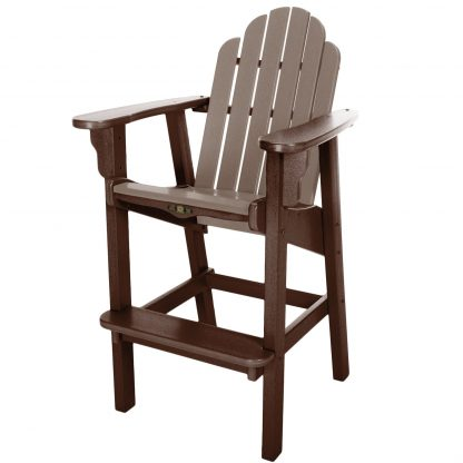 Essentials High Dining Chair- Chocolate/Weatherwood