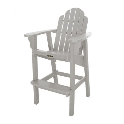 Essentials High Dining Chair- Gray