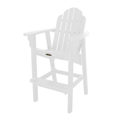 Essentials High Dining Chair- White