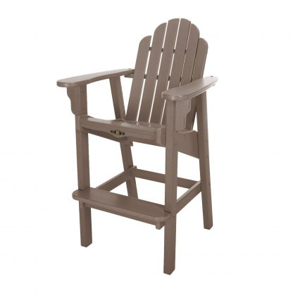 Essentials High Dining Chair- Weatherwood
