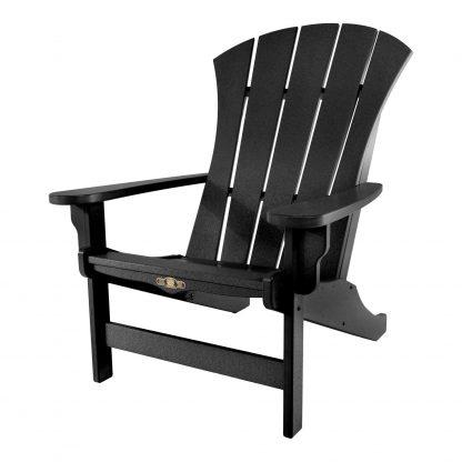 Sunrise Adirondack Chair- Black