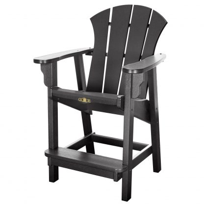 Sunrise Counter Height Chair- Black