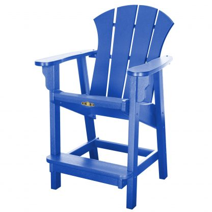 Sunrise Counter Height Chair- Blue