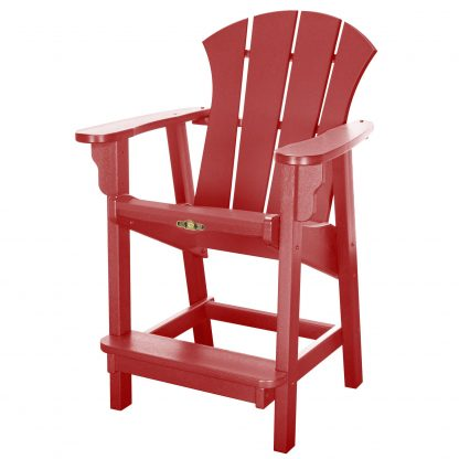 Sunrise Counter Height Chair- Red