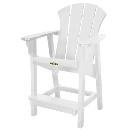Sunrise Counter Height Chair- White
