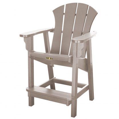 Sunrise Counter Height Chair- Weatherwood