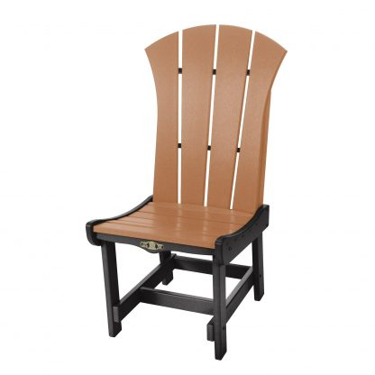 Sunrise Dining Chair- Black/Cedar