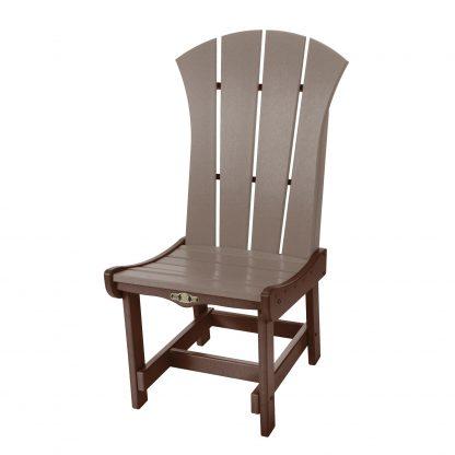 Sunrise Dining Chair- Chocolate/Weatherwood