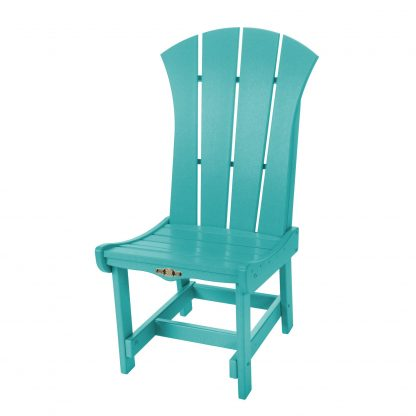 Sunrise Dining Chair- Turquoise