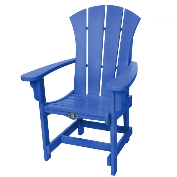 Sunrise Dining Chair with Arms- Blue