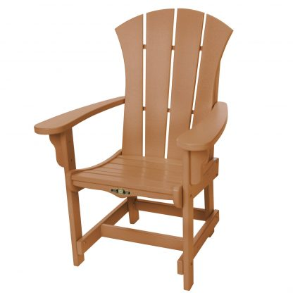Sunrise Dining Chair with Arms- Cedar