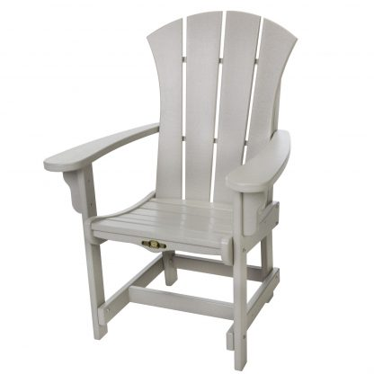 Sunrise Dining Chair with Arms- Gray