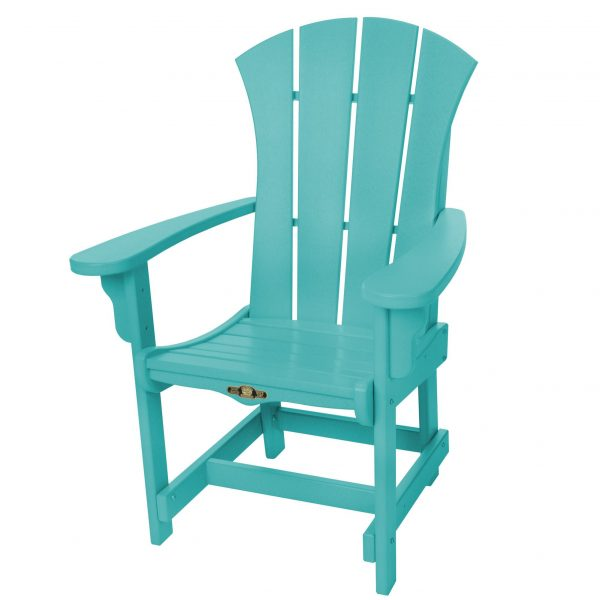 Sunrise Dining Chair with Arms- Turquoise