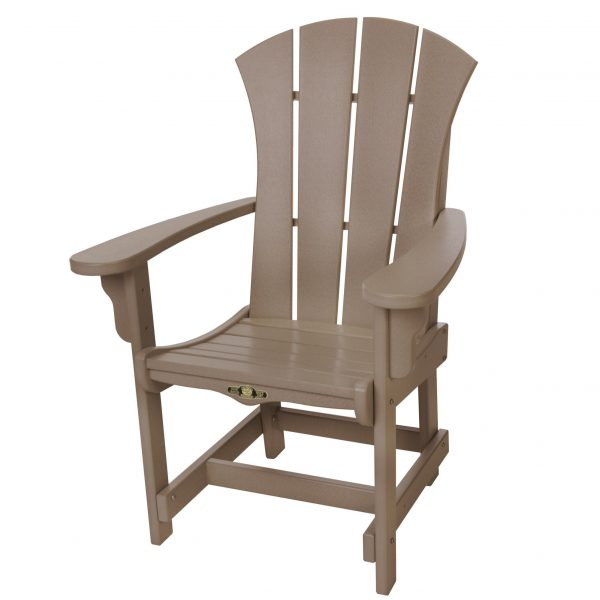 Sunrise Dining Chair with Arms- Weatherwood