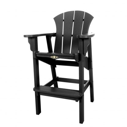 Sunrise High Dining Chair- Black