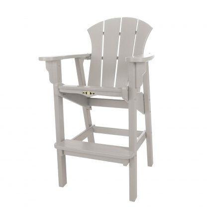 Sunrise High Dining Chair- Gray