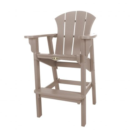 Sunrise High Dining Chair- Weatherwood