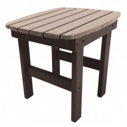 Side Table - ST1 - Chocolate/Weatherwood
