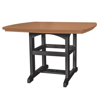Dining Table 46 - DT2 - Black/Cedar