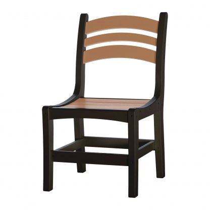 Casual Dining Chair - DC1 - Black/Cedar