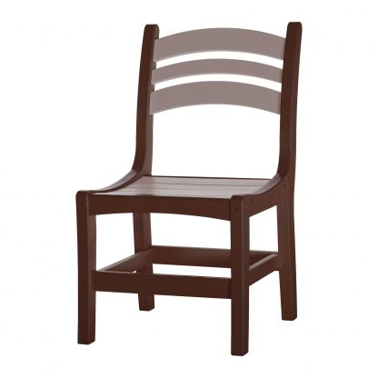 Casual Dining Chair - DC1 - Chocolate/Weatherwood