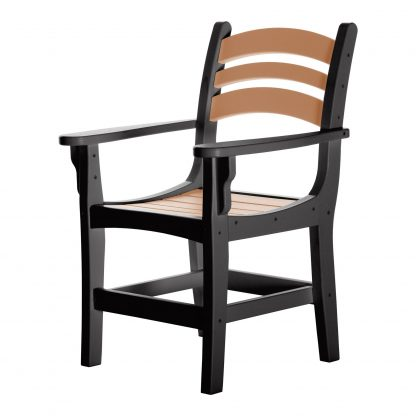 Casual Dining Chair - DCA1 - Black/Cedar