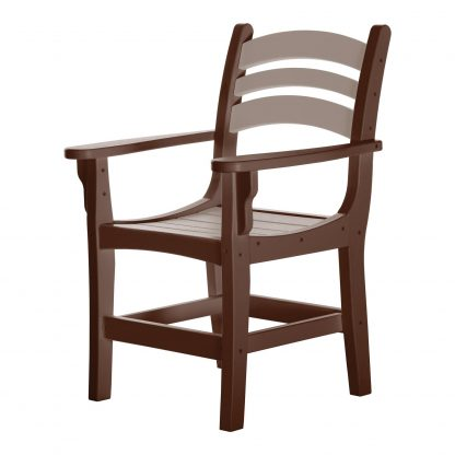 Casual Dining Chair - DCA1 - Chocolate/Weatherwood