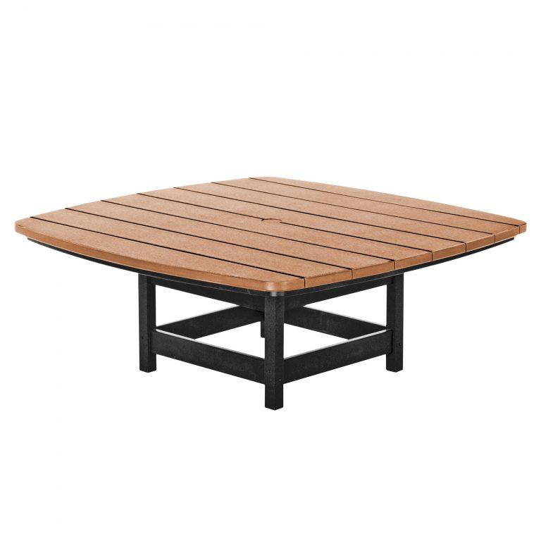 Conversation Table - CVT1 - Black/Cedar