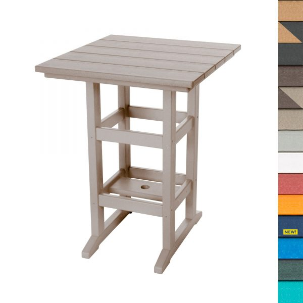 Counter Height Table with Navy