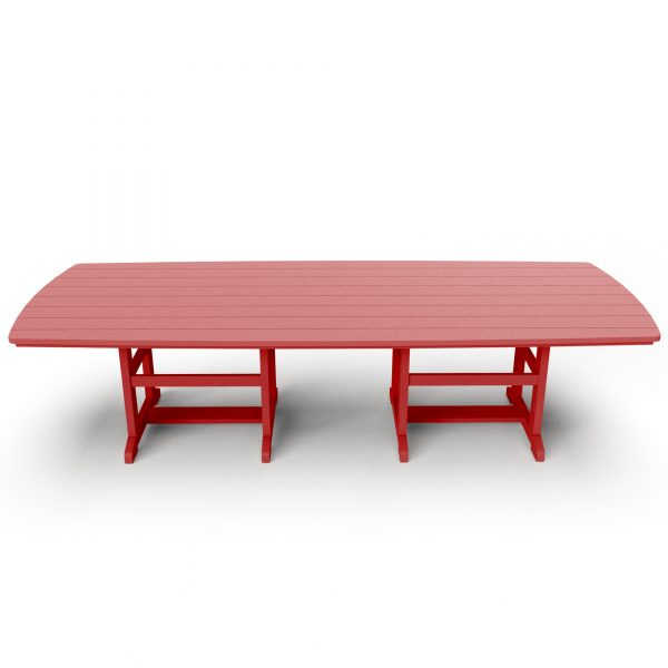 Dining Table 120 - DT120 - Red