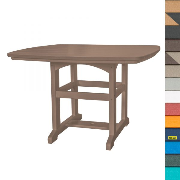 Dining Table 46 - DT2 - with Navy